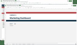 saas kpis and metrics dashboard