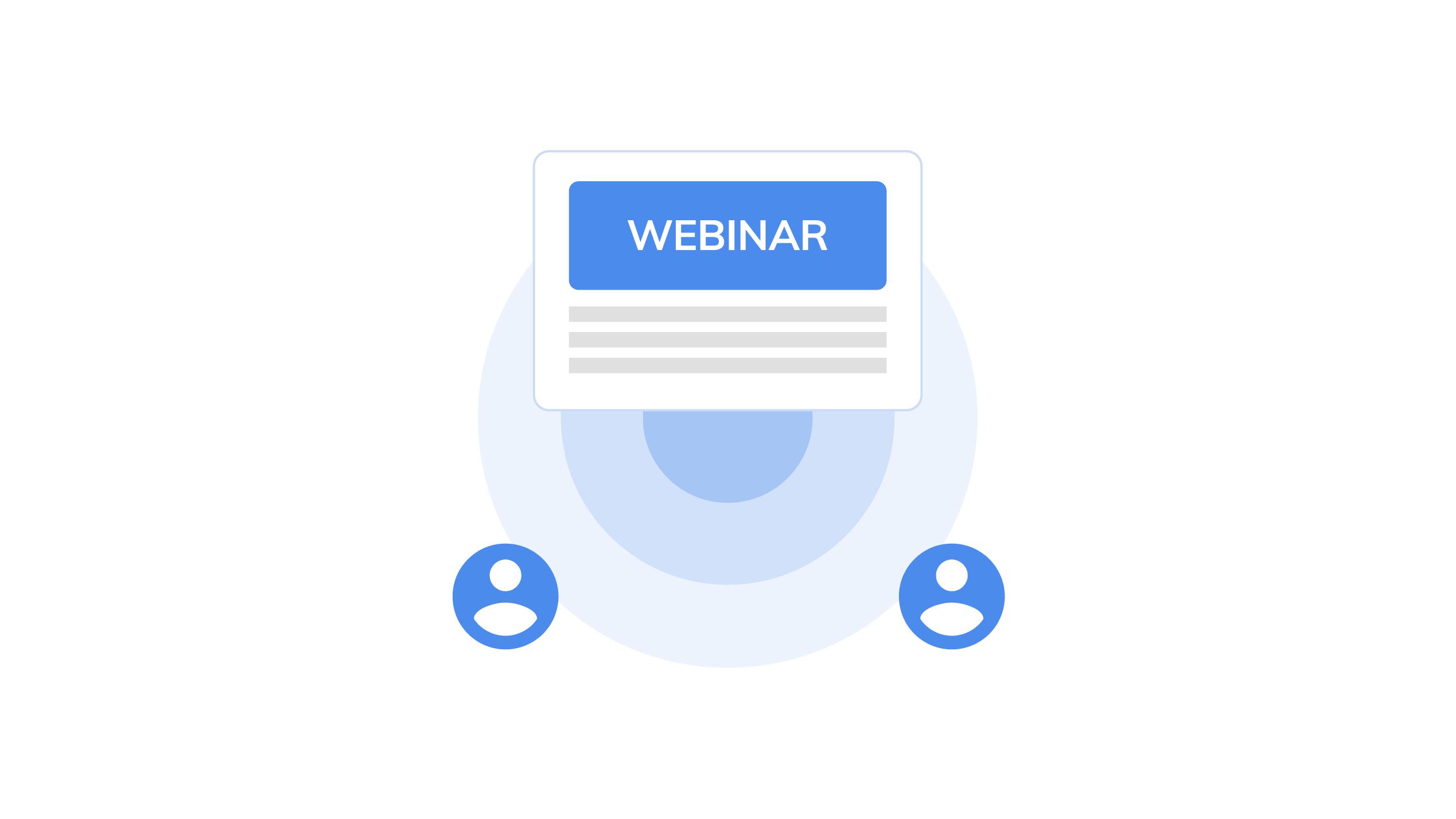 saas webinars - the ultimate guide to effective b2b saas marketing virtual events - blog image
